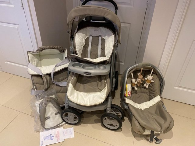 Image 2 of Graco Travel System