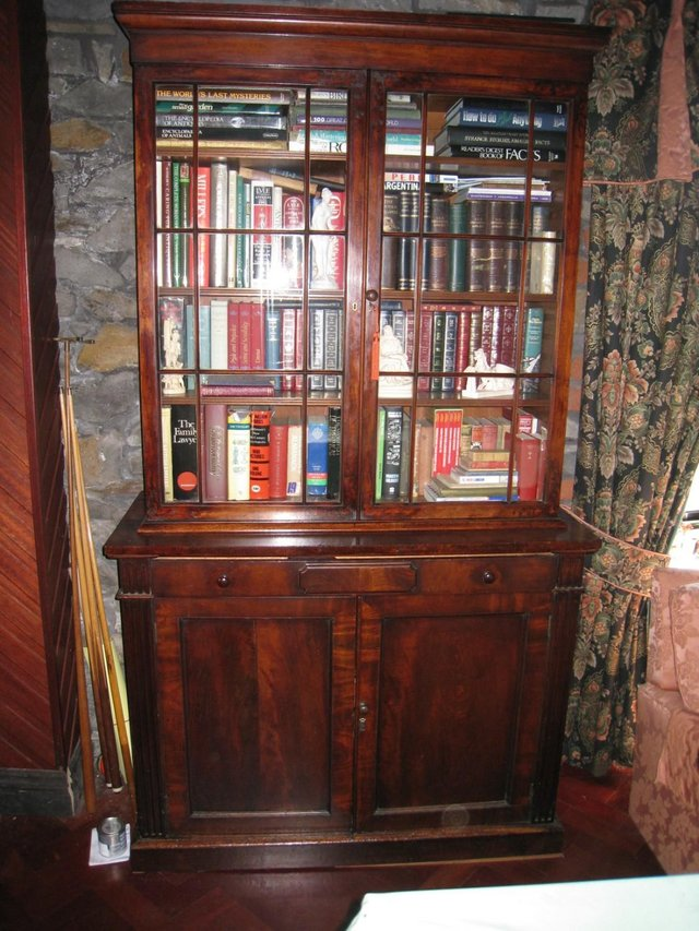 Preview of the first image of Victorian Mahogany Bookcase.