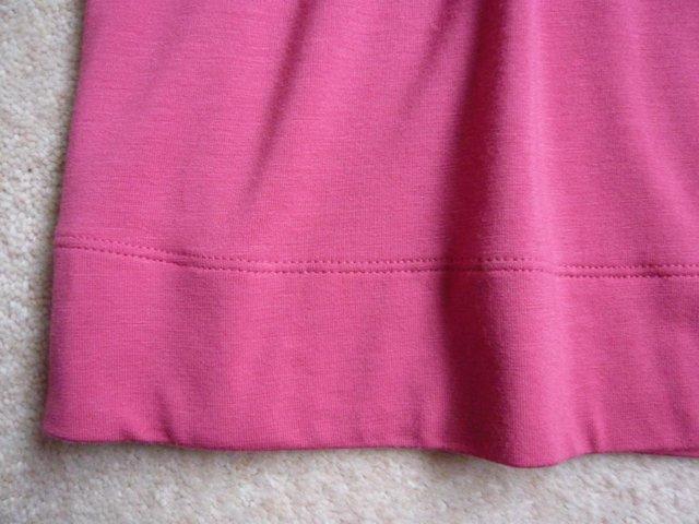 Image 3 of Dress - M&S dropped waist, jersey fabric