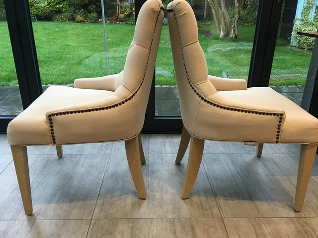 Image 2 of NEPTUNE DINING CHAIRS X 2