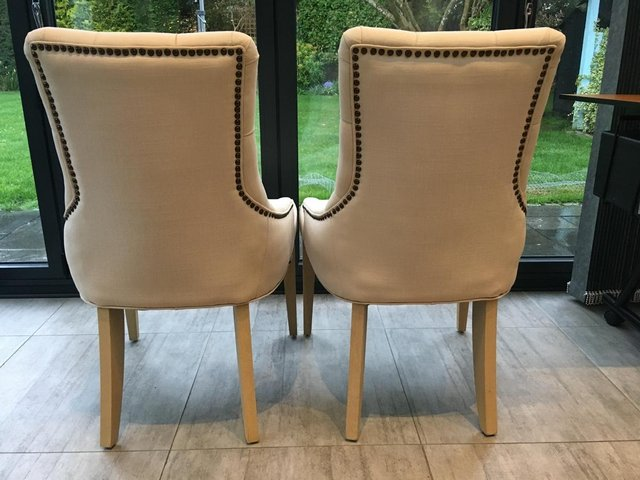 Image 3 of NEPTUNE DINING CHAIRS X 2