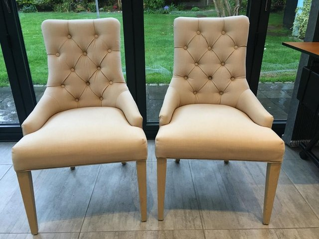 Image 4 of NEPTUNE DINING CHAIRS X 2