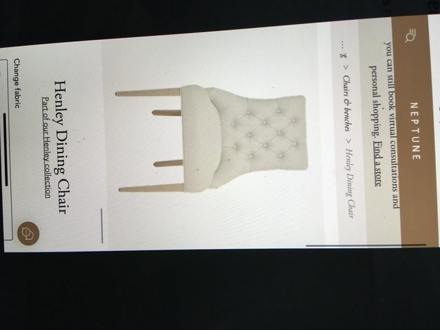 Image 6 of NEPTUNE DINING CHAIRS X 2