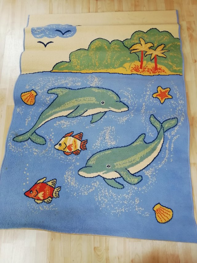 Preview of the first image of Child friendly colourful rug.