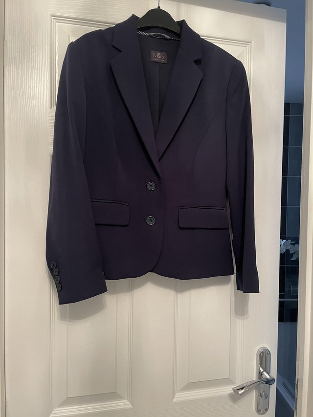 Preview of the first image of M&S Navy Jacket.
