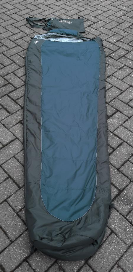 Preview of the first image of Mountain Warehouse Microlite 700 Sleeping Bag.