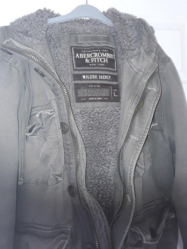 Image 2 of Mens Genuine Abercrombie & Fitch Wilcox Jacket Large
