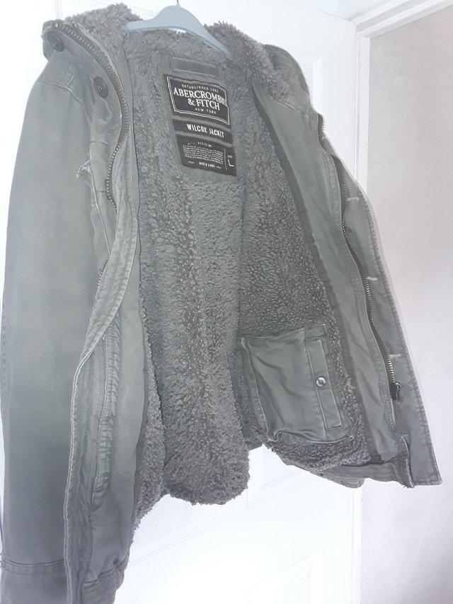 Image 3 of Mens Genuine Abercrombie & Fitch Wilcox Jacket Large