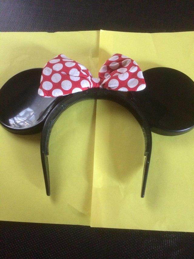 Preview of the first image of From Disneyland Paris, Minnie Mouse Headband.