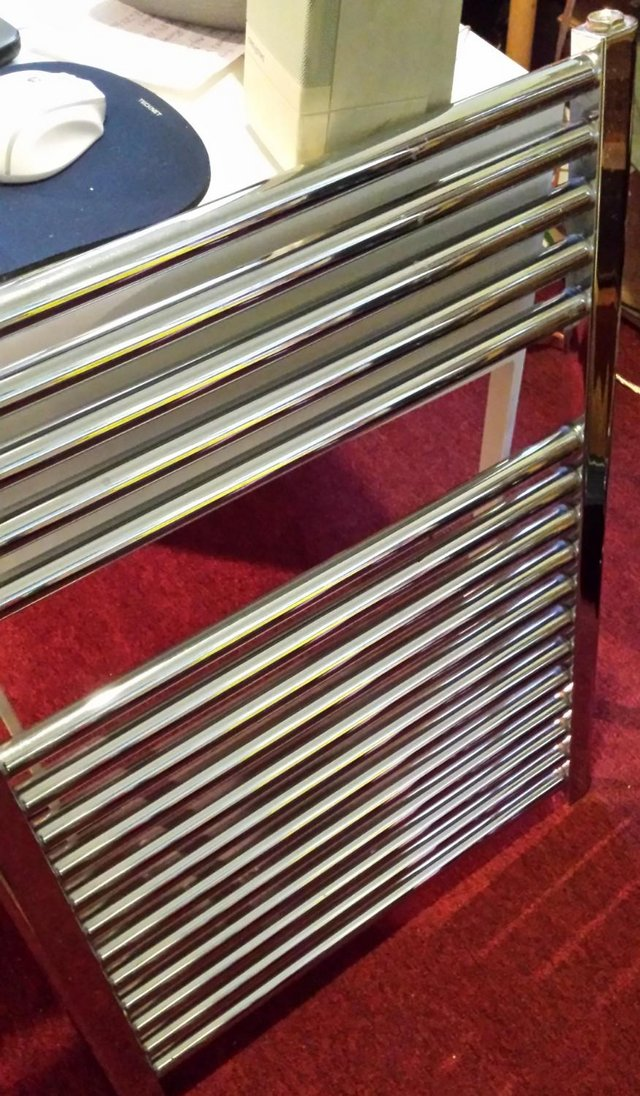 Preview of the first image of Designer Type of Ladder Towel Radiator Going Cheap to Clear.