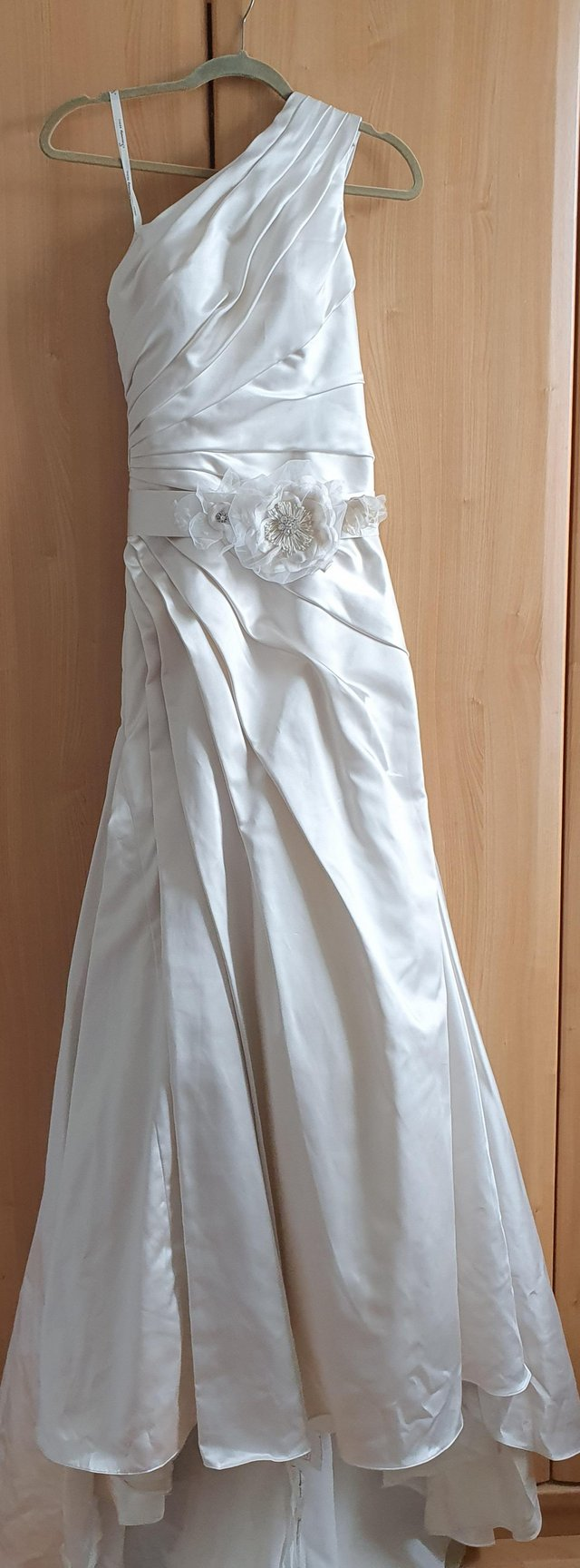 Preview of the first image of Brand New, with tags Sincerity Bridal Wedding Dress size 10.