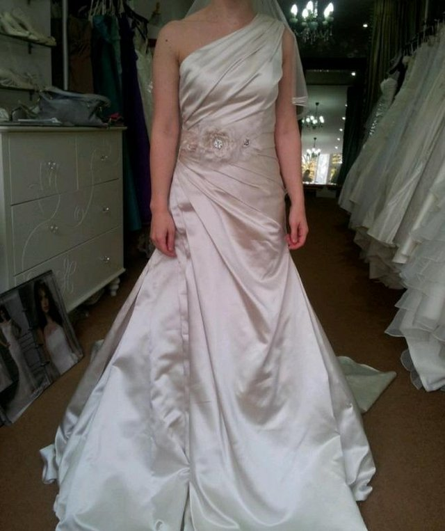 Image 2 of Brand New, with tags Sincerity Bridal Wedding Dress size 10
