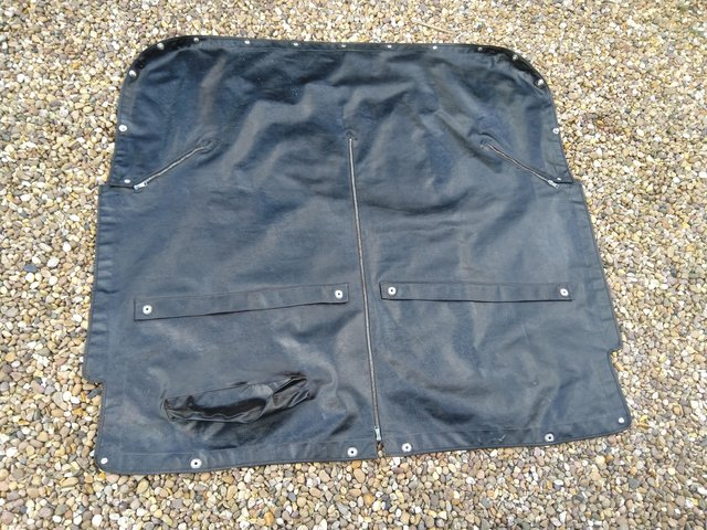 Preview of the first image of Mg midget tonneau cover.