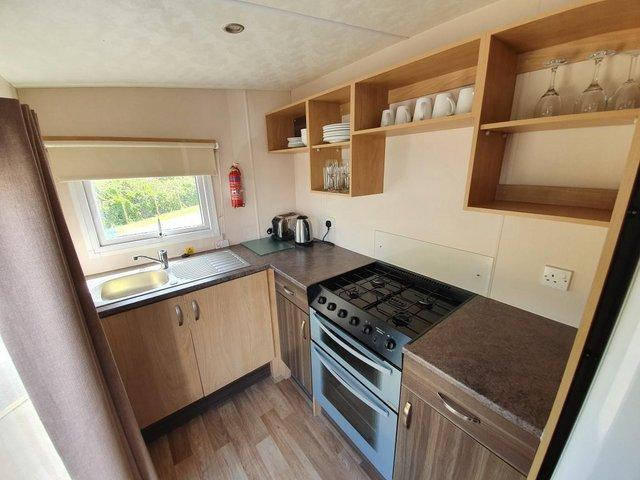 Image 2 of 3 bed holiday home at Marlie in Kent
