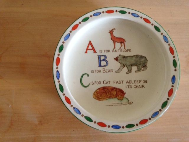 Preview of the first image of Adderley ABC child's feeding dish.