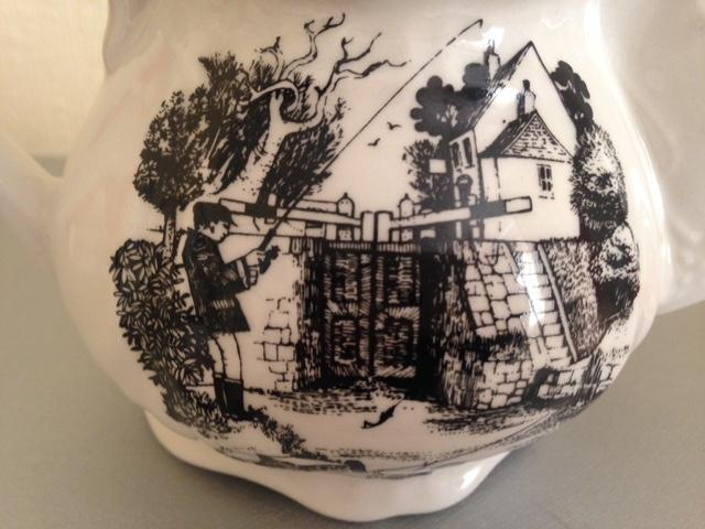 Preview of the first image of Vintage shaving mug by James Kent.