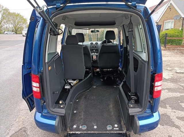 Image 2 of VW Caddy Sirus Automatic wheelchair car 31000 miles