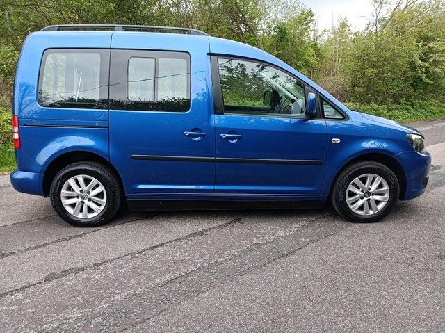 Image 3 of VW Caddy Sirus Automatic wheelchair car 31000 miles