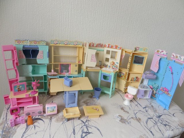Preview of the first image of Barbie furniture.