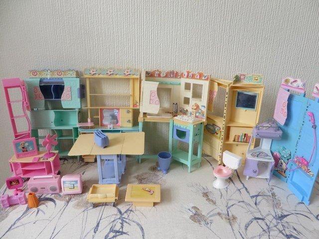 Image 2 of Barbie furniture