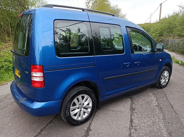 Image 4 of VW Caddy Sirus Automatic wheelchair car 31000 miles
