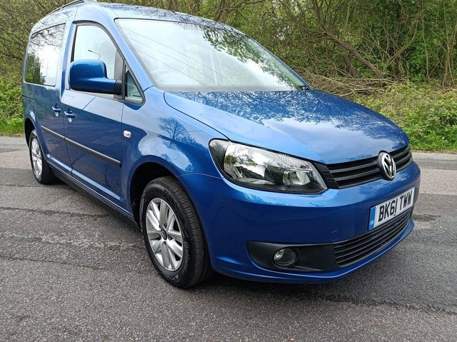 Image 5 of VW Caddy Sirus Automatic wheelchair car 31000 miles