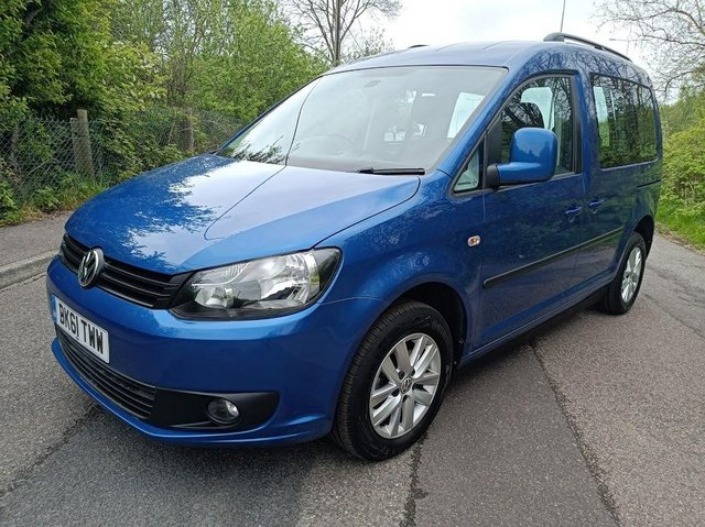 Image 6 of VW Caddy Sirus Automatic wheelchair car 31000 miles