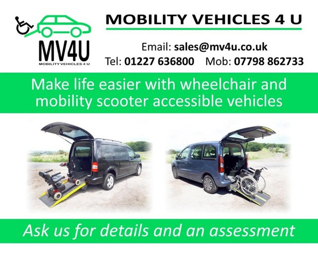 Image 16 of VW Caddy Sirus Automatic wheelchair car 31000 miles