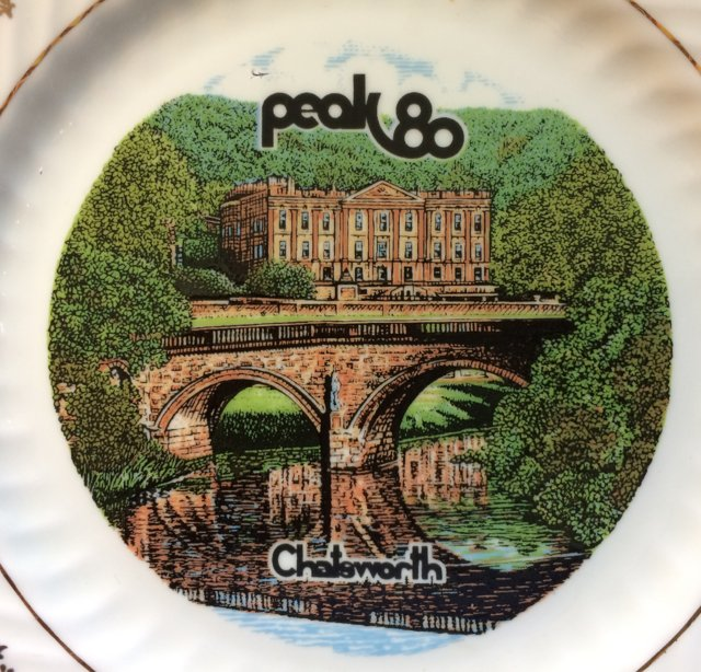 Preview of the first image of Peak 80 Commemorative Plate - Scout Movement.