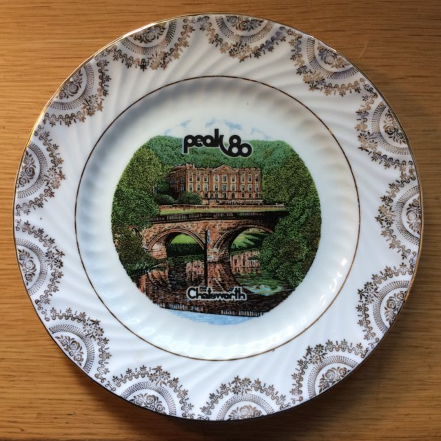 Image 3 of Peak 80 Commemorative Plate - Scout Movement
