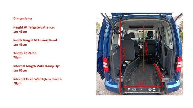 Image 17 of VW Caddy Sirus Automatic wheelchair car 31000 miles