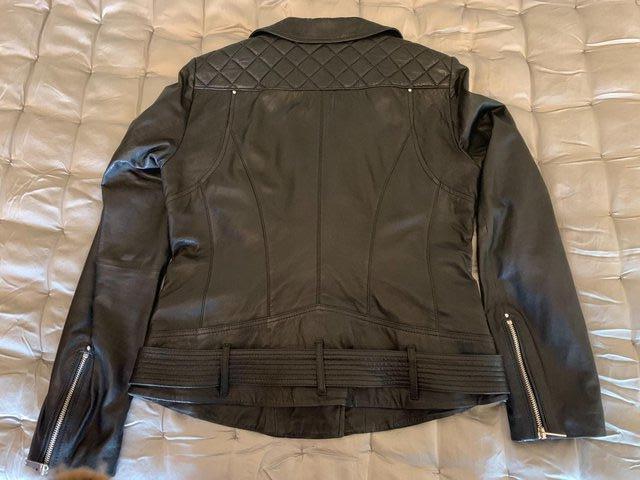 Image 3 of KAREN MILLEN Leather Jacket BN Unworn