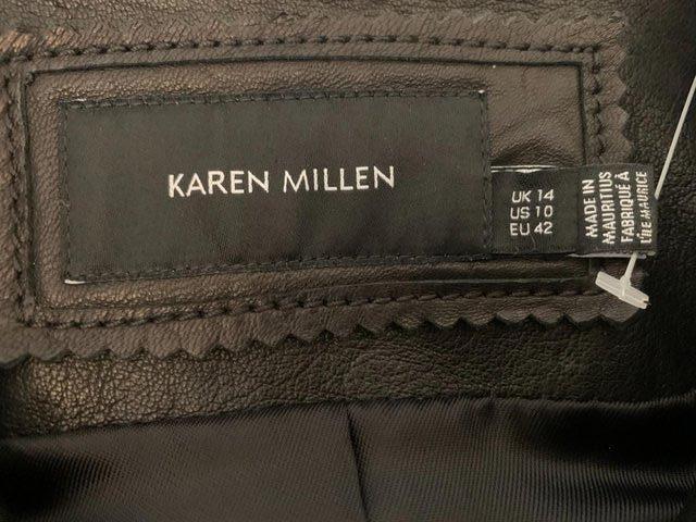 Image 2 of KAREN MILLEN Leather Jacket BN Unworn