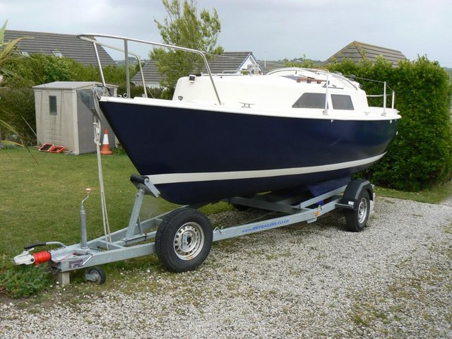 Preview of the first image of Hunter Minstrel Gaffer Total Refit during Covid.