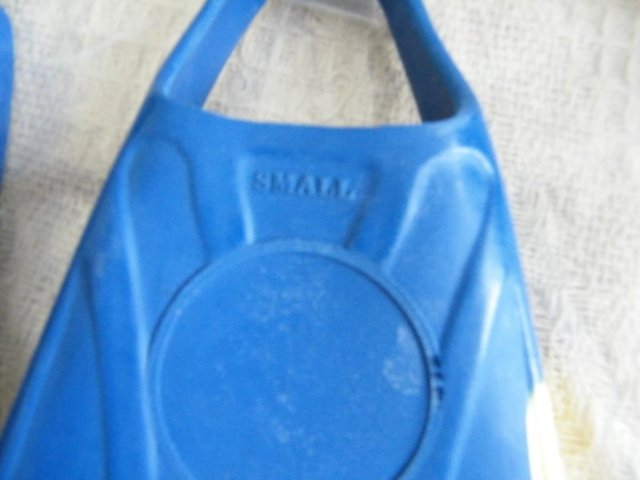 Image 2 of flippers for use with Body Board