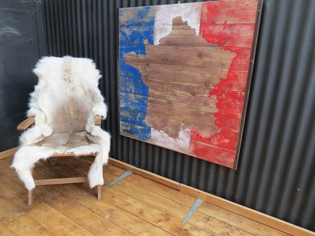 Preview of the first image of France Wall Art Map.