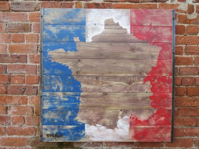 Image 5 of France Wall Art Map