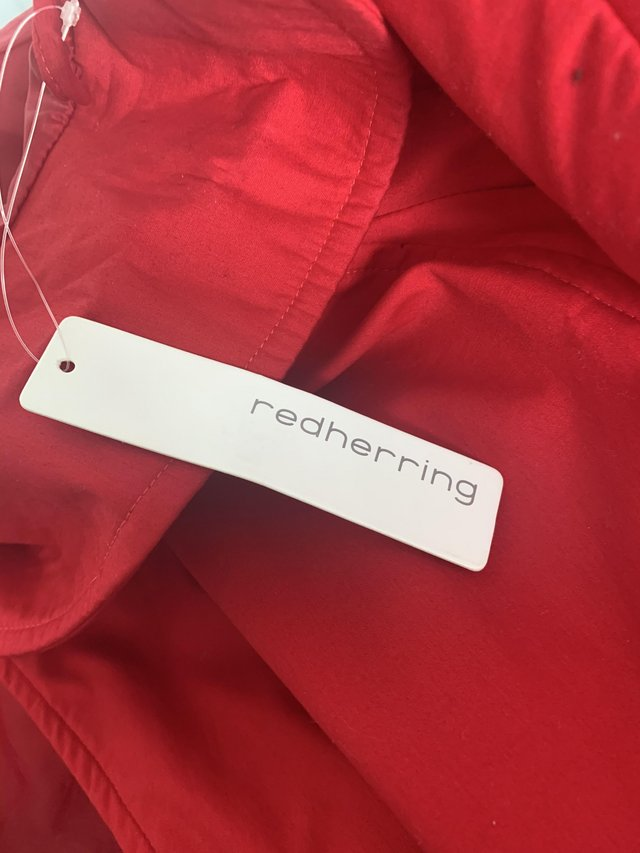Image 2 of Red coat