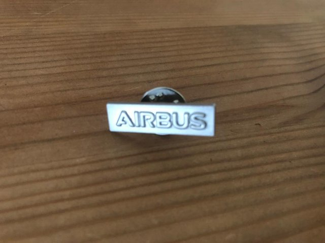 Preview of the first image of Airbus Lapel Tie Pin.