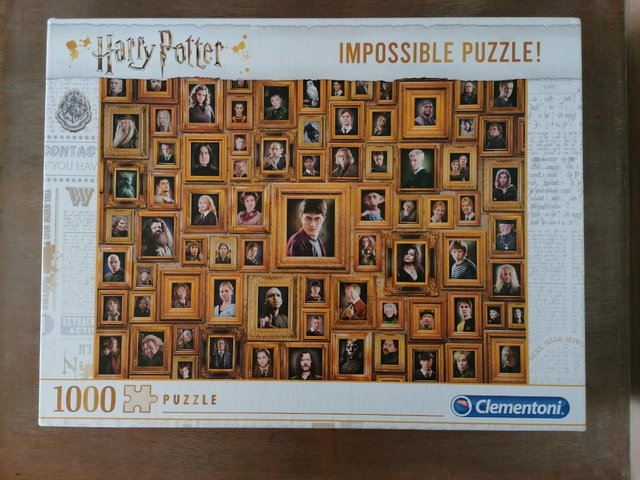 Image 3 of 1000 piece Harry Potter 'Impossible' Jigsaw!