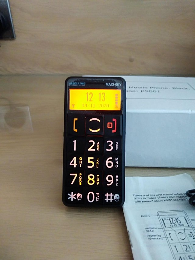 Preview of the first image of Big Button Mobile phone.