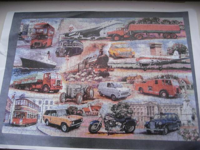 Image 2 of 1000 PIECE JIGSAW PUZZLE - GOLDEN OLDIES - COMPLETE