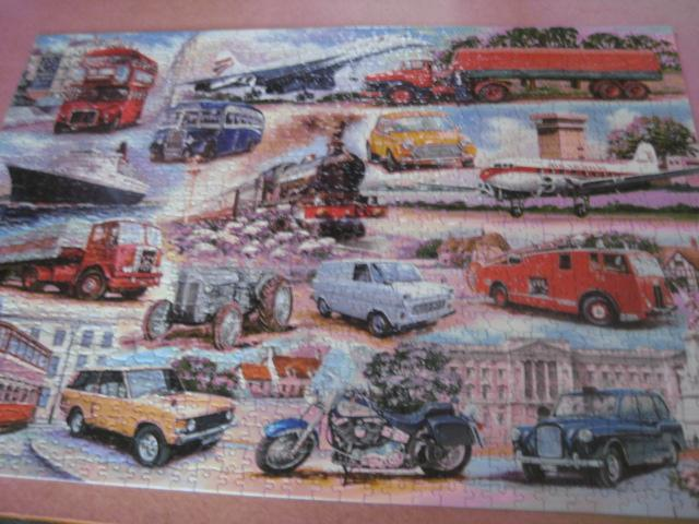 Image 3 of 1000 PIECE JIGSAW PUZZLE - GOLDEN OLDIES - COMPLETE