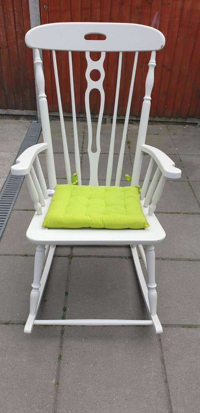 Preview of the first image of Vintage ercol type Rocking armchair.