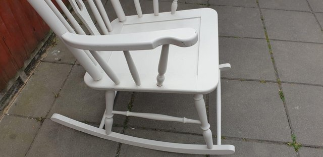 Image 2 of Vintage ercol type Rocking armchair