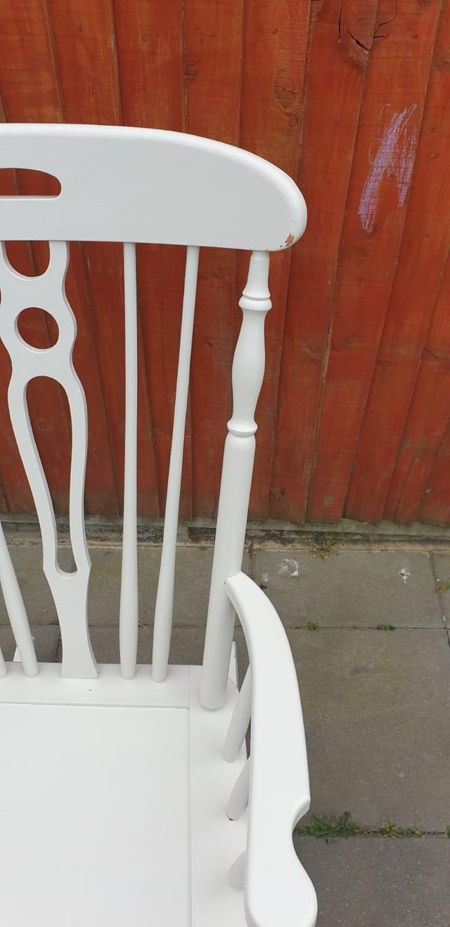 Image 3 of Vintage ercol type Rocking armchair