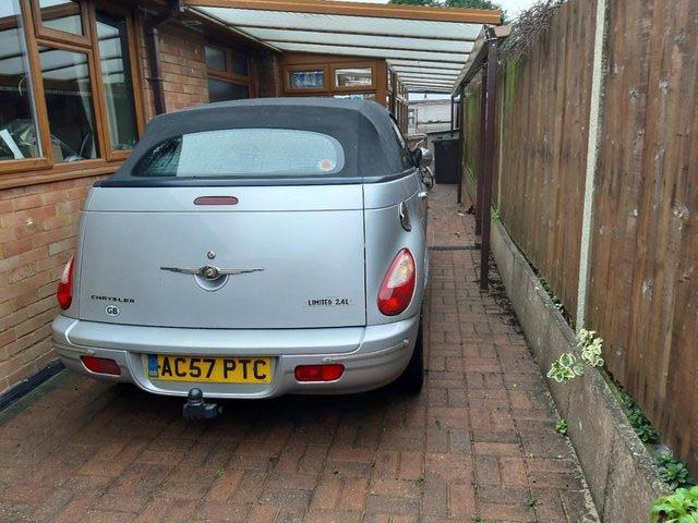 Image 3 of Chrysler PT Cruiser Convertible Limited 2007, Mileage 57,230