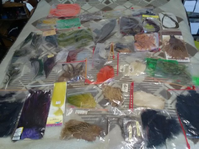 Preview of the first image of Fly fishing materials all new.