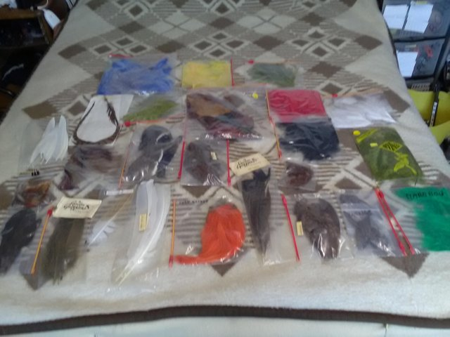 Image 2 of Fly fishing materials all new