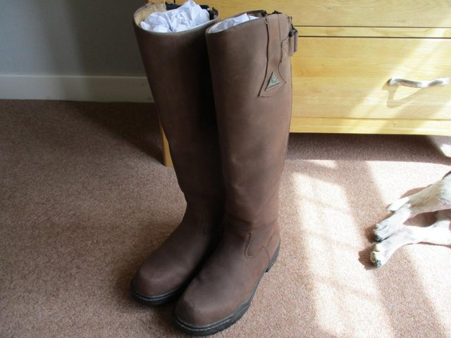 Preview of the first image of Mountain Horse Long Riding Boots Size 8.